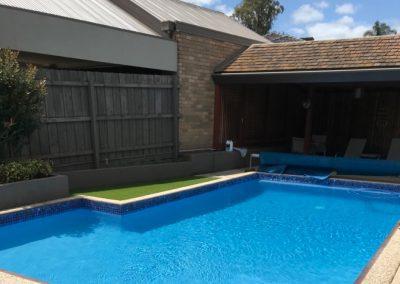 Huge suburban pool